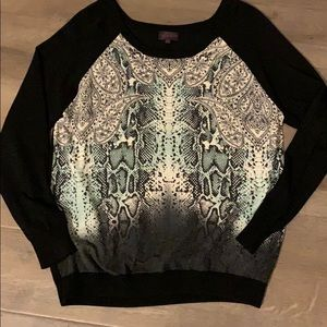 Hale Bob long sleeve sweater